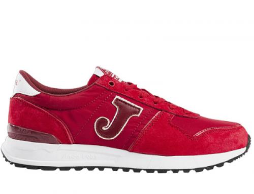 Pantofi sport bărbați Joma Y-VS52QK roșii din piele naturală întoarsă