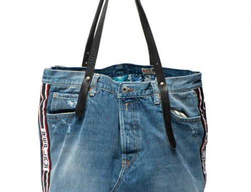 Geantă de damă Replay H-N52SW Jamie de umăr shopper din denim