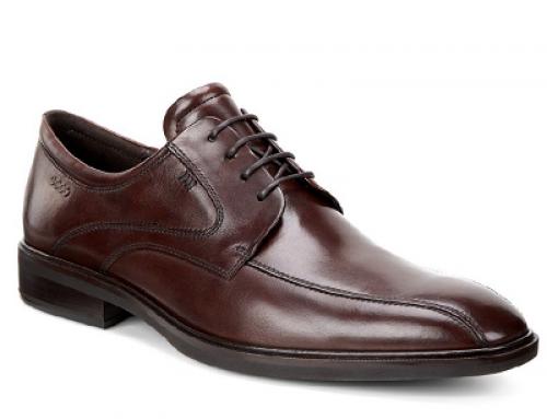 Pantofi office bărbați ECCO J-L25DQ Illinois din piele naturală, maro