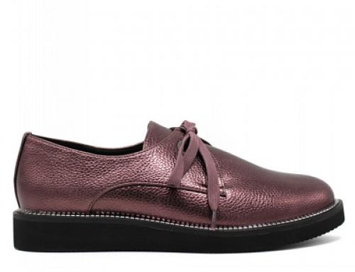 Pantofi de damă Kaylyn B-W5BDW cu șireturi, piele ecologică și cu talpă dreaptă
