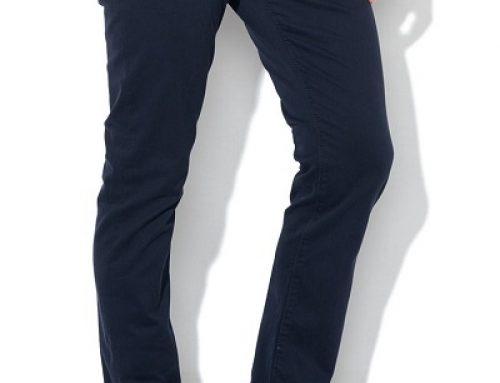 Pantaloni Levi's K-B96DQ Nathan casual bărbați, slim fit, conici, din bumbac