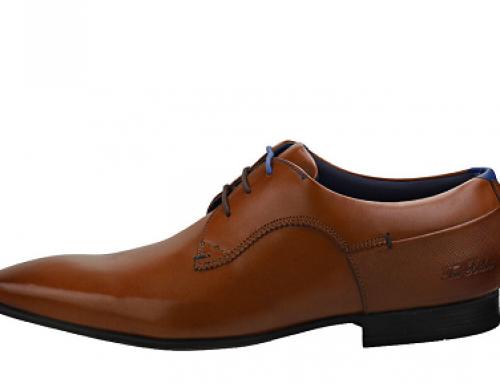 Pantofi office bărbați H-S52DW Ted Baker din piele naturală, cu talpă plată