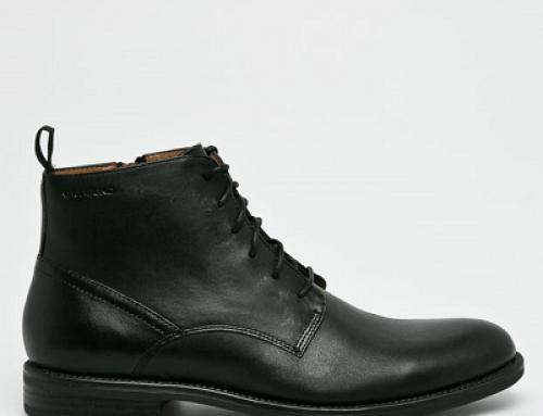 Ghete elegante bărbați Vagabond V-QH258JA Grover din piele naturală, negre