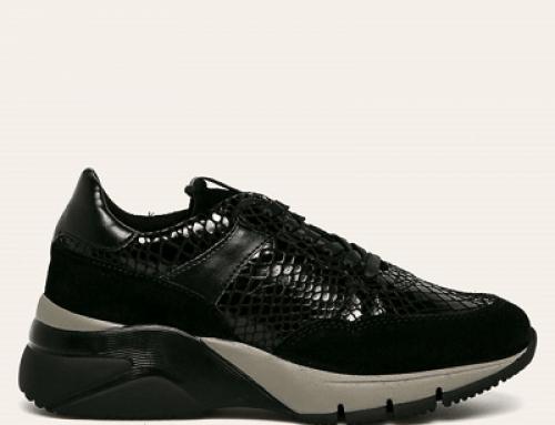Pantofi sport Tamaris DV852JQ Gussie de damă din piele naturală, cu platformă
