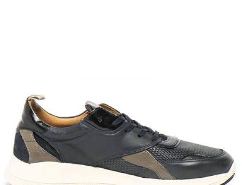 Pantofi sport bărbați Gant HY357SQ Ruben din piele naturală, negri