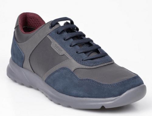 Pantofi sport Geox SF-Y41L Vernie penru bărbați, bleumarin