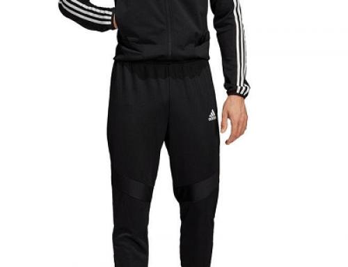 Trening bărbați Adidas W58-9KYU Santos negru cu bluză cu fermoar