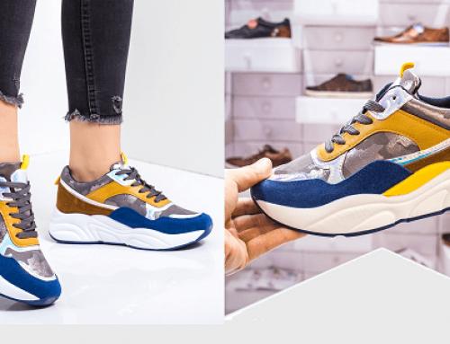 Promoția zilei: reducere de -43% pantofi sport de damă Kalemi din piele ecologică