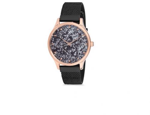 Ceas de damă Daniel Klein Trendy DK12188-5, 3ATM, Quartz, auriu rose