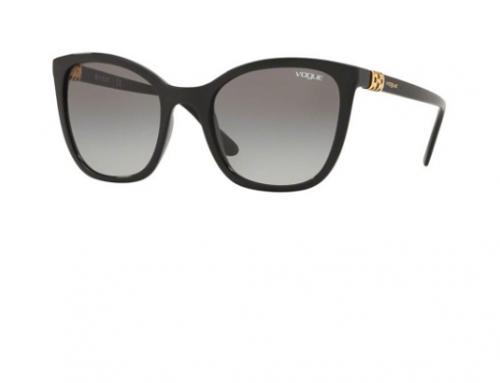 Ochelari de soare damă Vogue VO5243SB, ochi de pisică, polarizați, gri