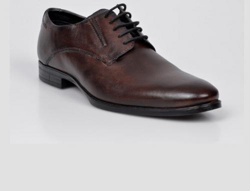 Pantofi office bărbați Bugatti H8YD Hermon din piele naturală, maro