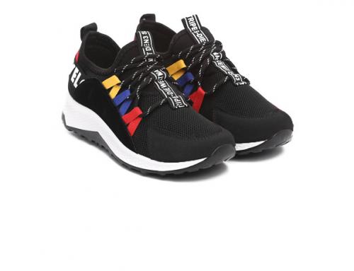 Pantofi sport Twila Y7MV Levity de damă negri din material textil