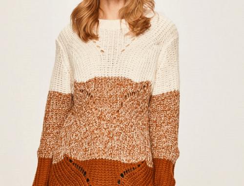 Pulover damă Jacqueline de Yong B5HN Roxie tricotat lung și drept