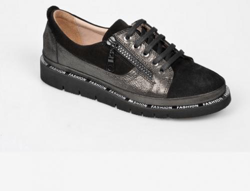 Pantofi casual Flavia Passini H4Y Elvie damă cu talpă plată din piele naturală