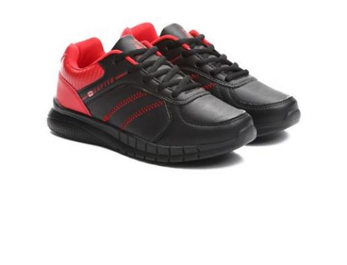 Pantofi sport damă Audrey BS4KY Running negri din piele ecologică