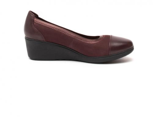 Pantofi damă Clarks GD5MH Agot casual cu platformă din piele naturală