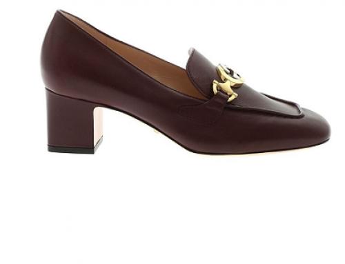 Pantofi de damă Gucci BG5YQ Kara eleganți din piele naturală cu toc masiv