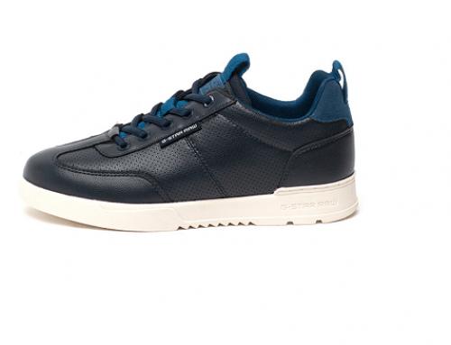 Pantofi sport de damă G-Star Raw LFQ4 Boxxa bleumarin din piele naturală