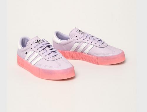 Pantofi sport damă Adidas Originals NGQ5Y Hazel violet din piele naturală