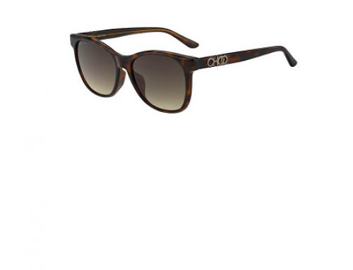 Ochelari de soare Jimmy Choo GSQ5T June damă polarizați cu ramă pătrată, lentile maro