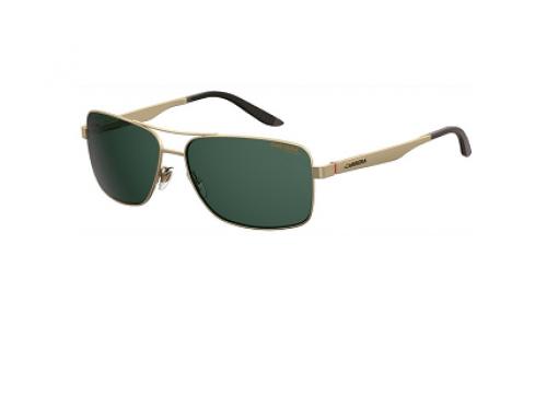 Ochelari de soare Carrera NHG5K Saif 8014/S bărbați polarizați cu lentile verzi, ramă rectangular