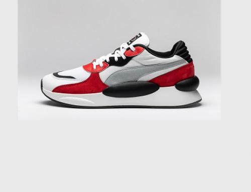 Pantofi sport bărbați Puma VFG5K Bennas Space RS 9.8 cu piele întoarsă și talpă vulcanizată