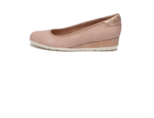 Pantofi de damă s.Oliver GKU5Q Frankie casual roz pastel cu platformă și talpă wedge