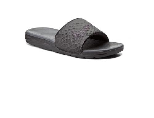 Papuci bărbați Nike GSQ5N Saxon Benassi de plajă sport cu talpă plată și anti-alunecaree