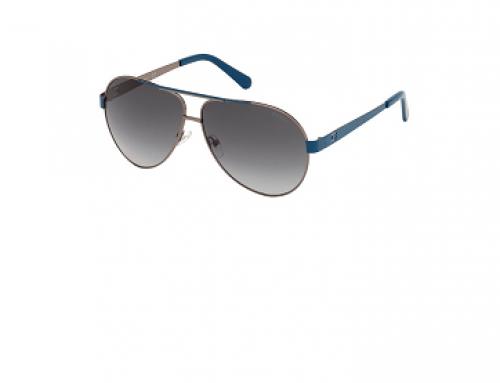 Ochelari de soare Guess HNGB4S Brooke bărbați Aviator polarizați cu lentile gri