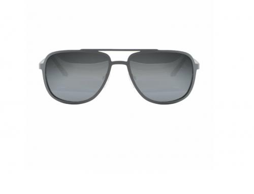 Ochelari de soare bărbați Dunlop HGQ5N Yannis polarizați cu lentile gri și rama din metal