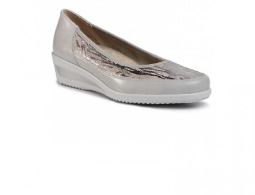 Pantofi cu platformă Ara HNDQ5U Josie de damă casual din piele naturală gri