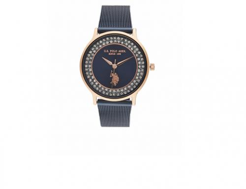 U.S Polo ASSN. Michelle USP5803BL, ceas damă 3 ATM, carcasă rotundă, Quartz