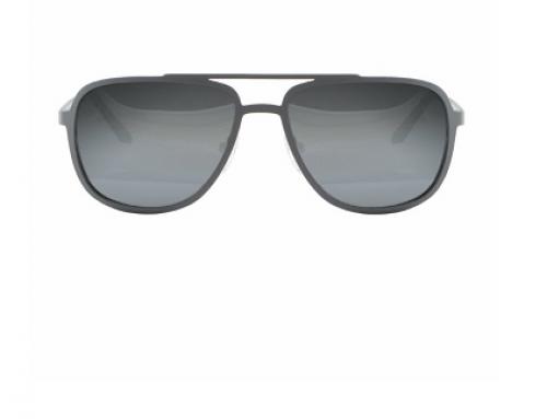 Ochelari de soare Dunlop C25516 Macon bărbați polarizați cu lentile gri și rama din metal