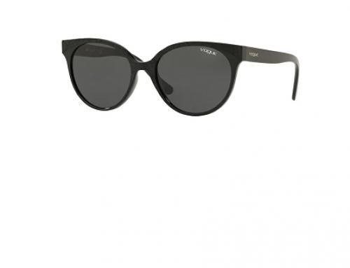 Ochelari de soare damă Vogue VO5246S polarizați W44/87 ochi de pisică, lentile gri
