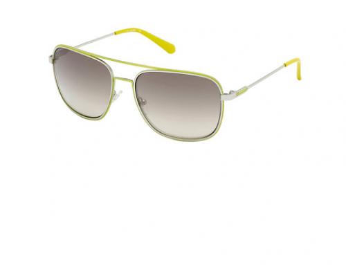 Guess Urbano GHQ5N, ochelari de soare bărbați Aviator polarizați cu lentile gri în degrade
