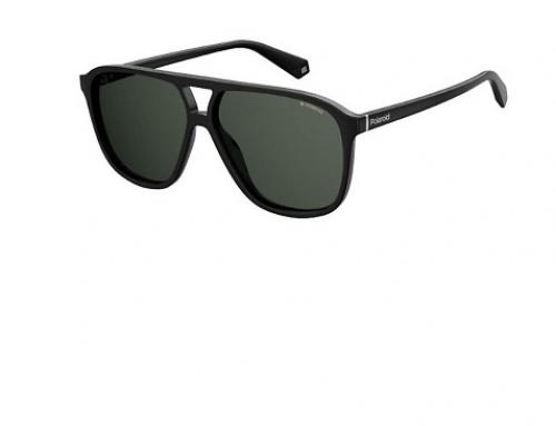 Ochelari de soare cu lentile gri Polaroid PLD 6097/S 807 pentru bărbați cu ramă rectangular
