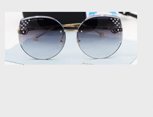 Ochelari de soare polarizați TLD5EQ Matteo Ferari de damă cu aplicații decorative