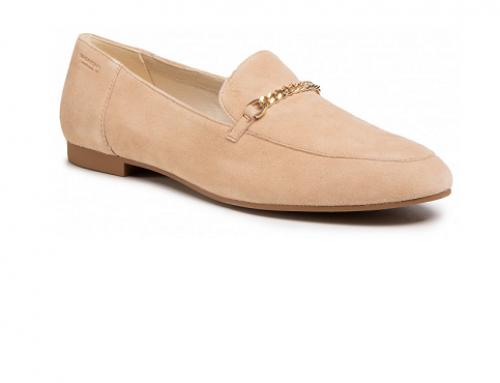 Pantofi din piele naturală UH4SQ Vagabond Giona, de damă, casual, cu talpă joasă, bej