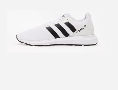 Pantofi sport Adidas WLN4TQ Swift Run pentru bărbați, albi, din material textil cu spumă în talpă