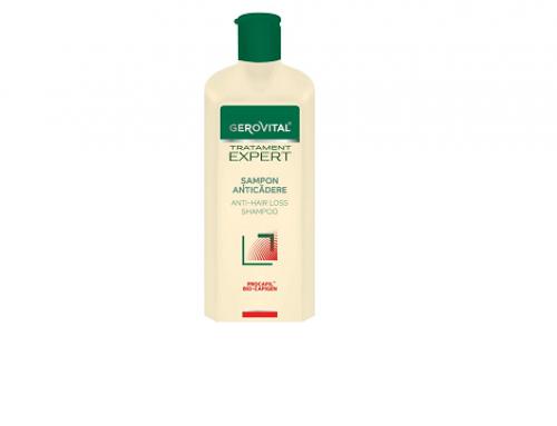 ULD4Q Gerovital Expert, șampon împotriva căderii părului cu Procapil și BioCapigen