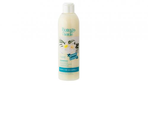 Șampon GLT4EQ Tiare hidratant pentru păr degradat, cu efect de restructurare, cu ulei de monoi