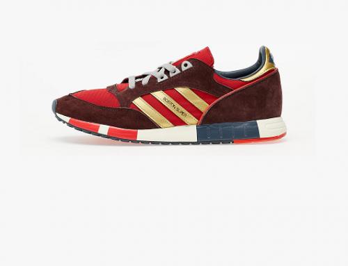 K-ULG5EW Adidas Boston, pantofi sport bărbați roșii cu spumă poliuretanică pe interior