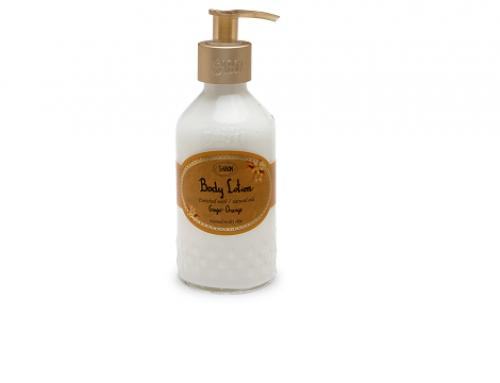 WLB4HL Sabon, cremă de corp hidratantă și calmantă cu ulei de avocado, portocală și ghimbir