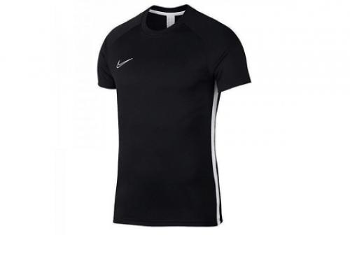 Nike DL5NLW, tricou sport bărbați negru DRY ACDMY cu decolteu rotund pentru alergare