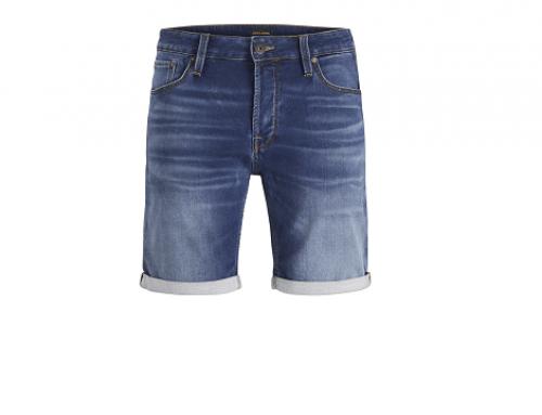 Pantaloni scurți UH-LFD5W Jack & Jones Rick bărbați din denim albaștri cu buzunare