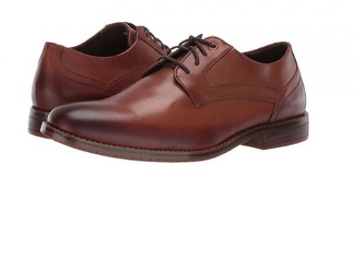 Pantofi din piele naturală UFE4WEQ Rockport Nevins bărbați eleganți, coniac