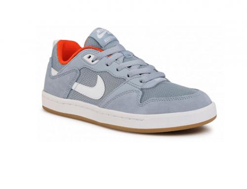 Pantofi sport damă Nike U-DhTLQ din piele naturală Sb Alleyoop cu talpă plată