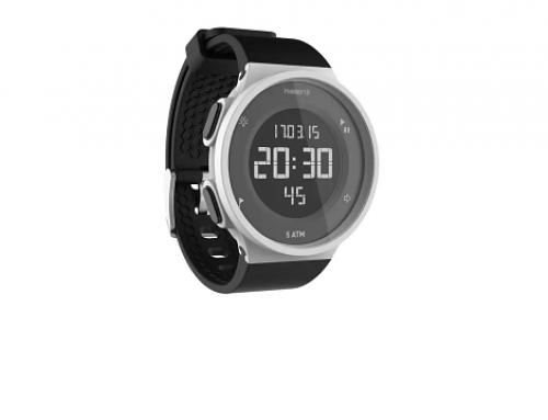 Ceas W-LMQ5G Kiprun pentru alergare W500 M, cu alarmă, cronometru și retro-iluminare