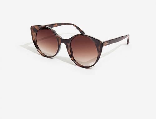 Ochelari de soare damă U-GLW5E Nali stil ochi de pisică, polarizați, cu lentile maro în degrade