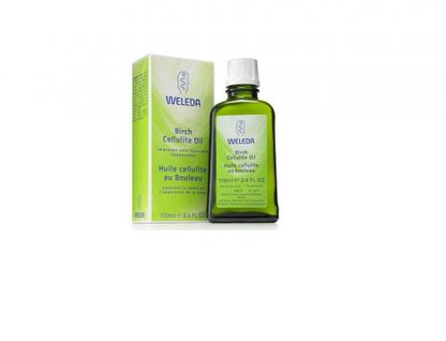 Ulei anticelulită GmD5SWQ Weleda cu extract de mesteacăn, 100ml, pentru piele netedă și fermă